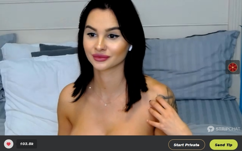 Stripchat lets you record a private cam show for free